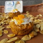 ciasteczka dyniowo-pomarańczowe