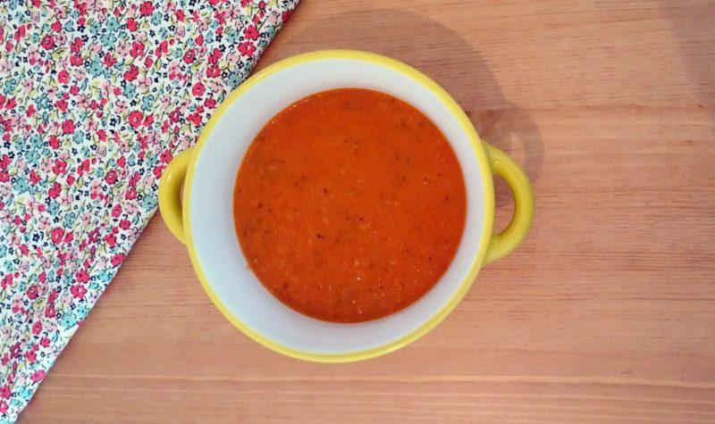 zupa pomidorowa z pomarańczą